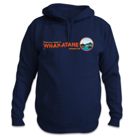 "No ""waka"" in Whaka hoodie - Bold as Brass"